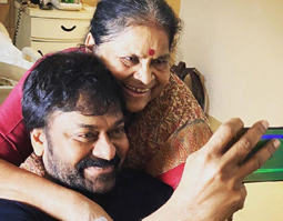 Chiranjeevi Celebrates his Mother Birthday