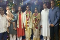Telugu film producer dil raju gets married for the second time