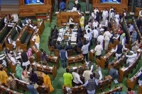 Lok sabha adjourned for the day after row on delhi violence