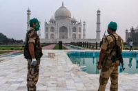 Agra bomb scare taj mahal reopens for tourists after investigation