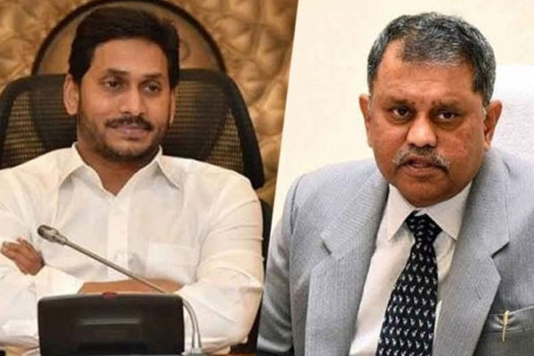 Jagan govt andhra poll panel spar over local body election schedule