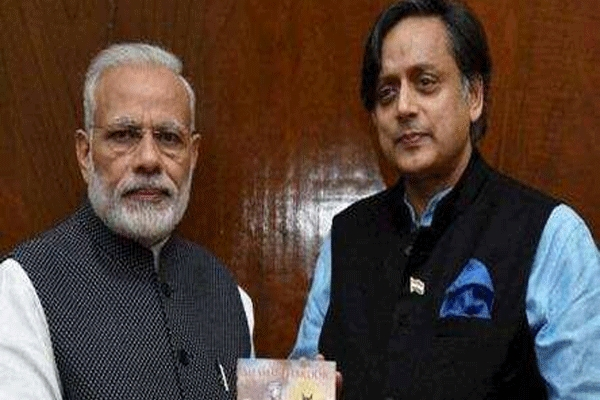 After pm modi s tweet makes a splash shashi tharoor s inference piques twitterati